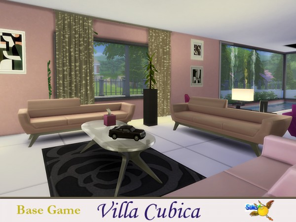 The Sims Resource: Villa Cubica by evi