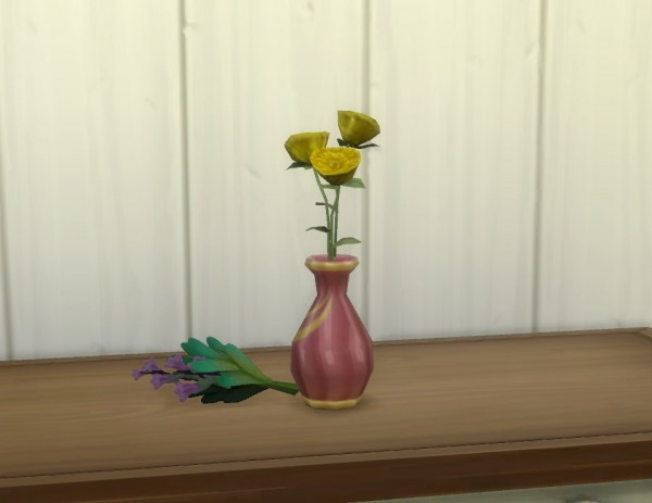 Mod The Sims Vase For Garden Flowers By Plasticbox Sims