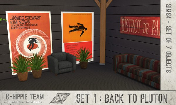Mod The Sims: Back to Pluton   Set of 7 Objects by Blackgryffin