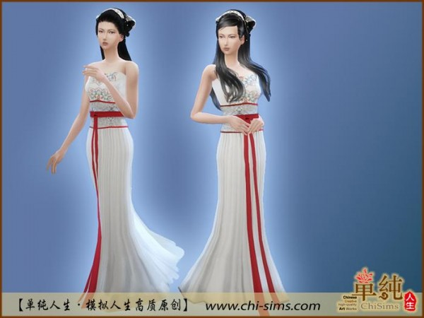 chi sims chinese moxiong ruqun sims 4 downloads