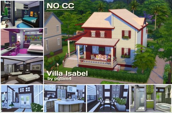 PQSims4: Villa Isabel