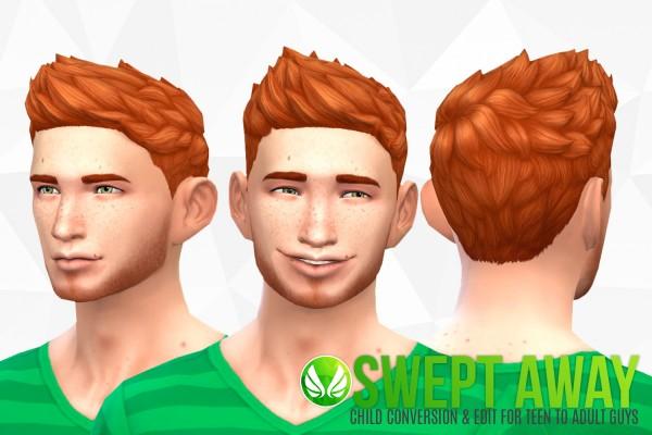 Simsational designs: Swept Away   Child Hair Conversion