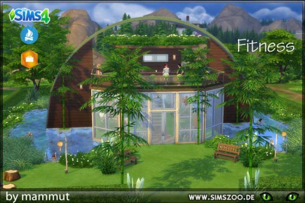 Blackys Sims 4 Zoo: Vegie Fit by mammut