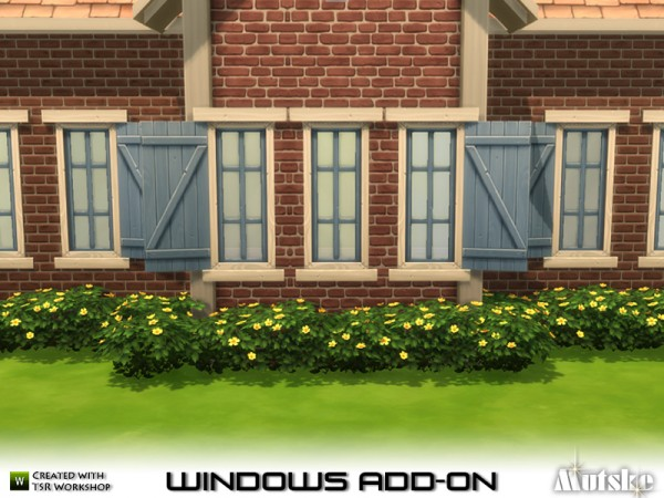 The Sims Resource: Window Add on Part 2 by Mutske