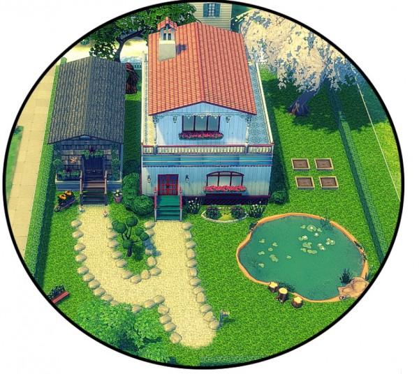 Sims 4 designs garden essence tiny house sims 4 downloads for Garden design sims 4