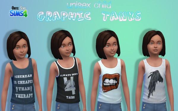 Onyx Sims: Graphic Tanks