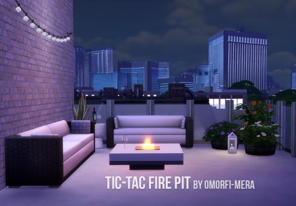 Omorfi Mera Tic Tac Fire Pit Sims 4 Downloads