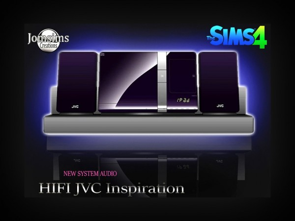 Jom Sims Creations: Hifi inspiration JVC system audio