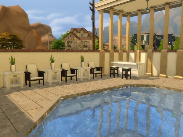The Sims Resource: Greek Spa by Ineliz
