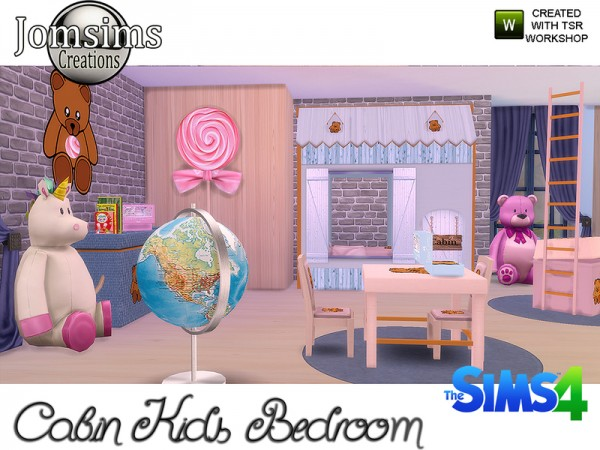 The Sims Resource: Cabin Kids bedroom by jomsims