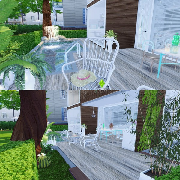 Mony Sims: Small Fancy House