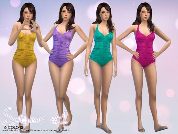 The Sims Resource: Swimwear 1 by Aveira