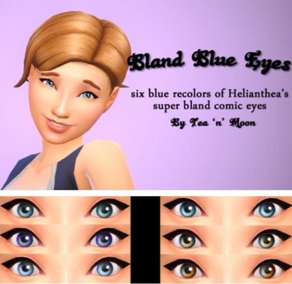 Budgie2budgie: Bland Blue Eyes by Tea 'n' Moon