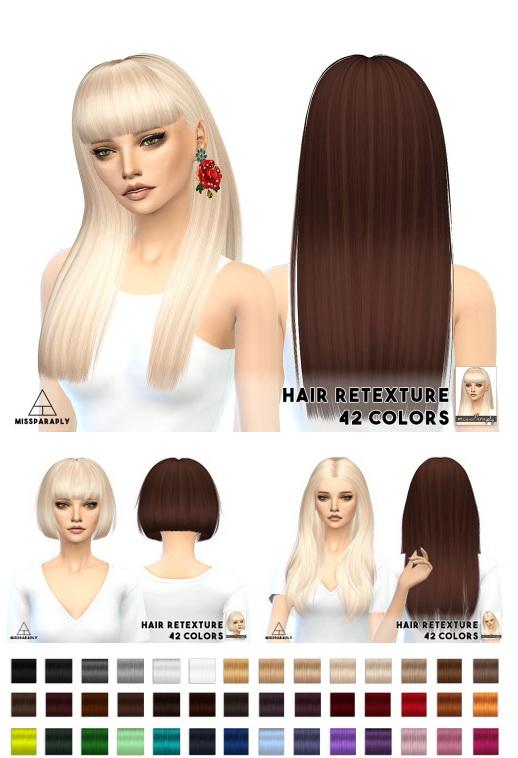 Miss Paraply: Hair retextures / Nightcrawler hairs