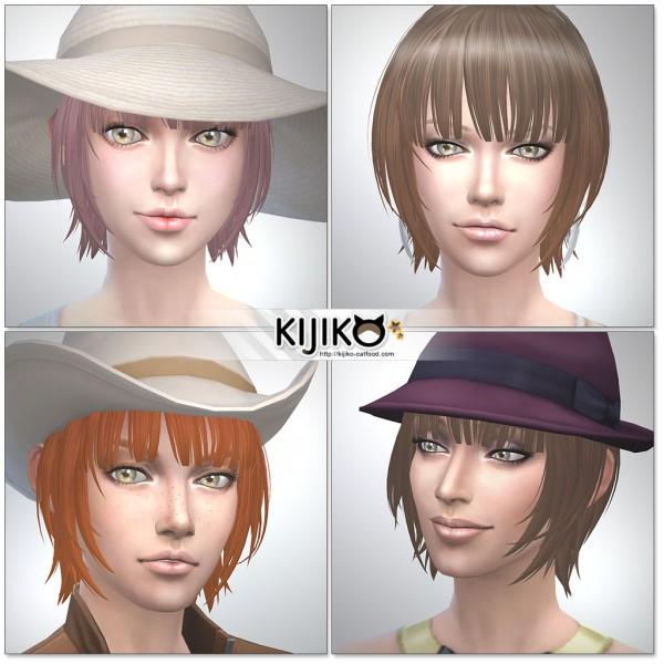 Kijiko: Bob with Straight Bangs (for Female)