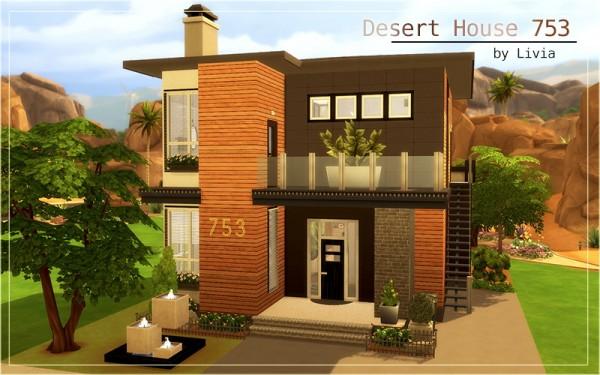 Homeless Sims: Desert house 753