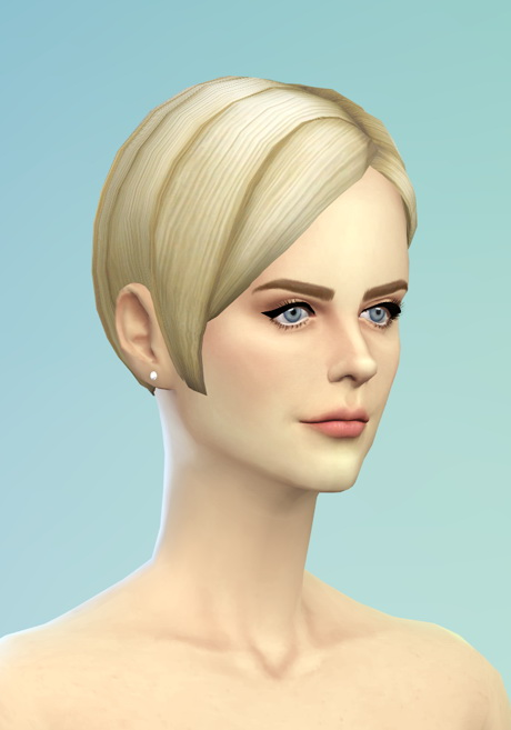 Rusty Nail Bangs Side Swept Edit V3 Sims 4 Downloads