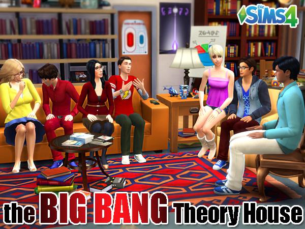 Akisima Sims Blog: The BIG BANG Theory Haus