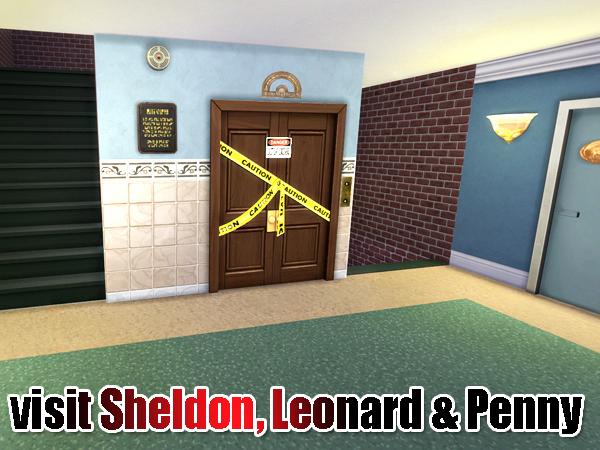 Akisima Sims Blog The Big Bang Theory Haus Sims 4 Downloads