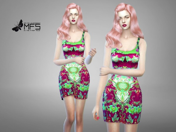 Miss Fortune Sims: Catelyn Dress by Miss Fortune Sims