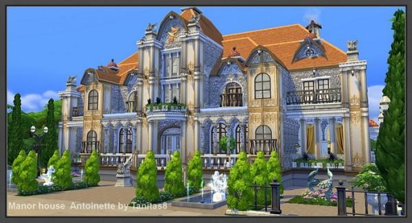 Tanitas Sims Manor House Antoinette Sims 4 Downloads