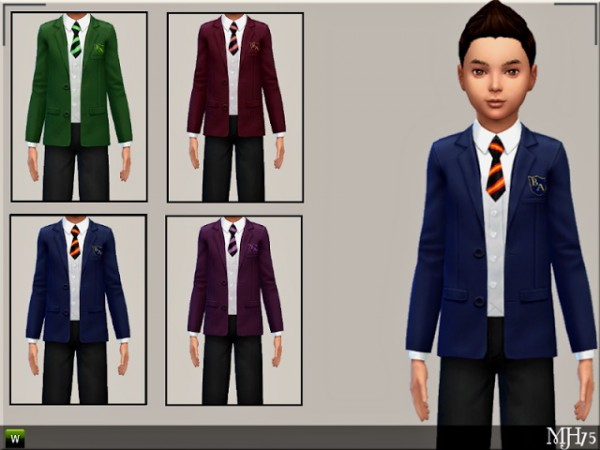 Sims Addictions: Child School Uniforms by Margies Sims