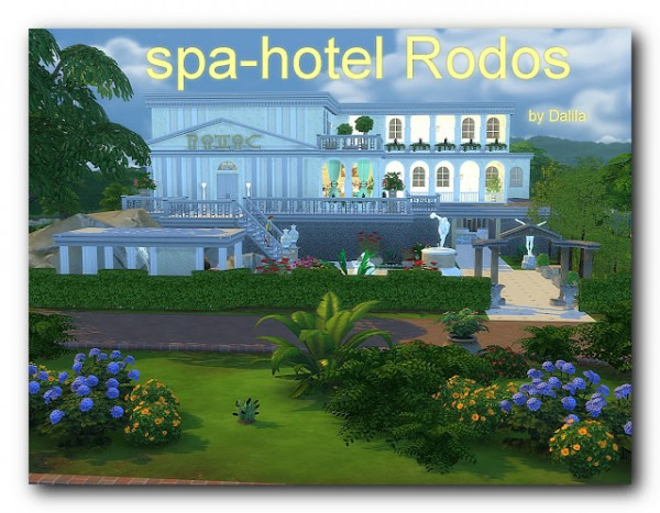Architectural tricks from Dalila: Spa hotel Rodos