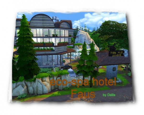 Architectural tricks from Dalila: Eco Spa hotel Faus