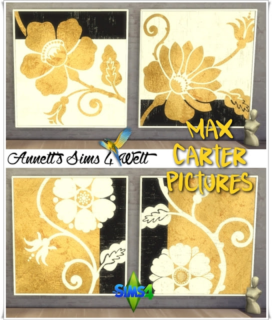 Annett`s Sims 4 Welt: Max Carter Pictures