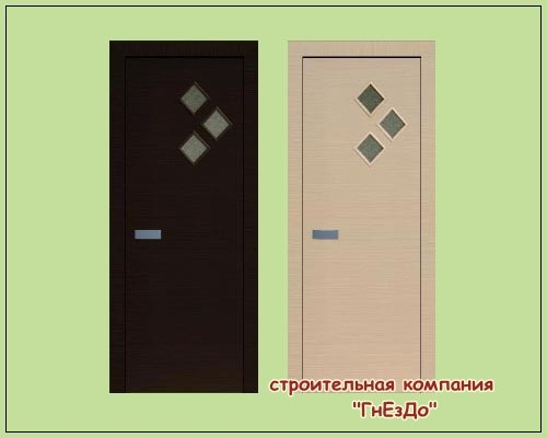 Sims 3 by Mulena: Doors Strela