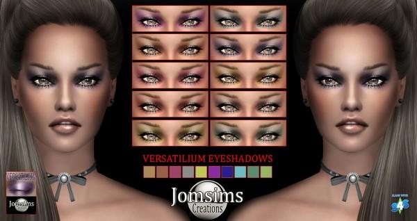 Jom Sims Creations: New ombres eyeshadows VERSATILIUM