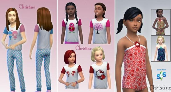 CC4Sims: Childrens Clothes
