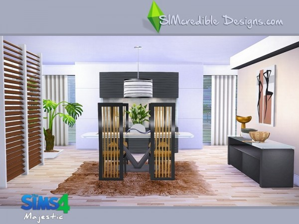 The Sims Resource: Majestic diningroom by SImcredible Design
