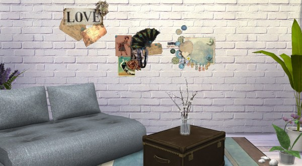 My little The Sims 3 World: Wall stickers set