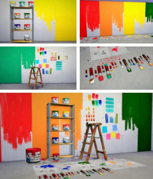 Budgie2budgie: The DIY Painter Set