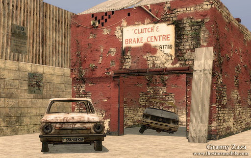 The Sims Models: Old cars part 2 by Granny Zaza