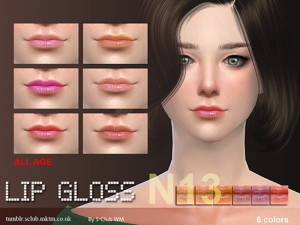 The Sims Resource: Lipstick 13 by S Club