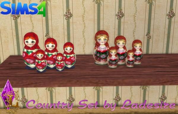 Ladesire Creative Corner: VitaSims Country Set Decor by Ladesire (101 items)