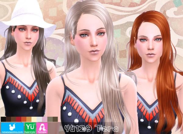 NewSea: YU129 Tera hairstyle