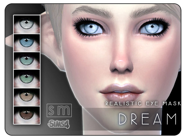The Sims Resource: Dream  Realistic Eye Mask by Screaming Mustard