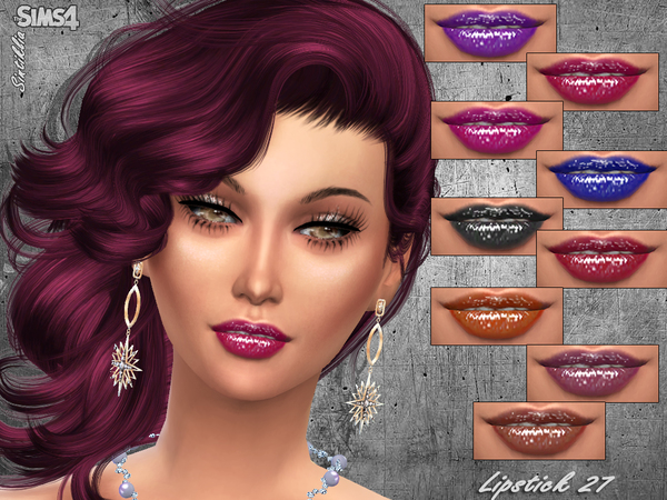 The Sims Resource: Lipstick 27   Sintiklia