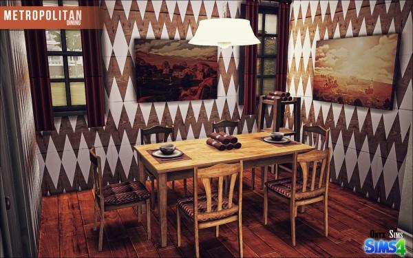 Onyx Sims: Metropolitan dinning