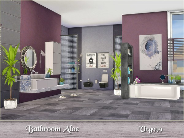 The Sims Resource Bathroom Aloe By Ung999 Sims 4 Downloads