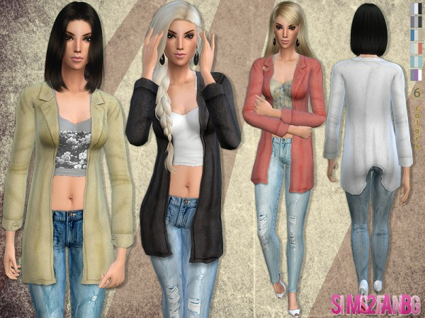 The Sims Resource: 57   Casual outfit by Sims2fanbg