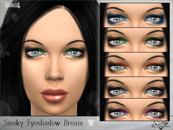 The Sims Resource: Smoky Eyeshadow Dream by Devirose