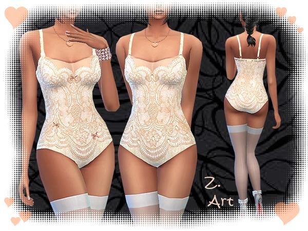 The Sims Resource: High Neck Belly Dress   3D by DarkNighTt