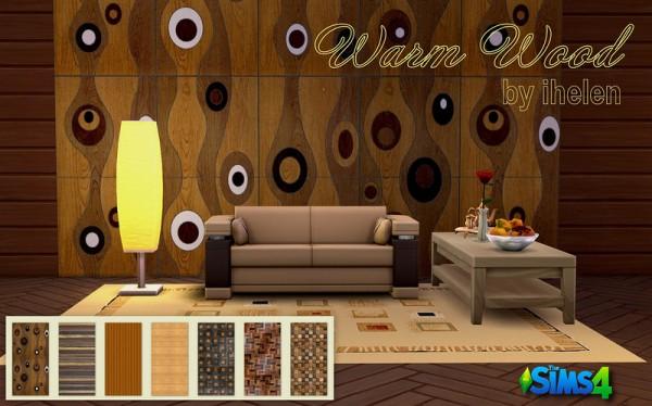 Ihelen Sims: Warm Wood Walls