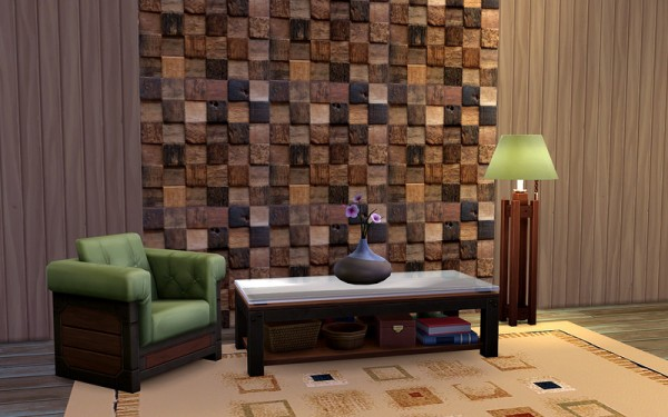 Ihelen Sims Warm Wood Walls Sims 4 Downloads