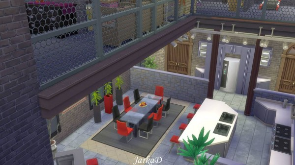 Jarkad Sims 4 Industrial Apartment Sims 4 Downloads