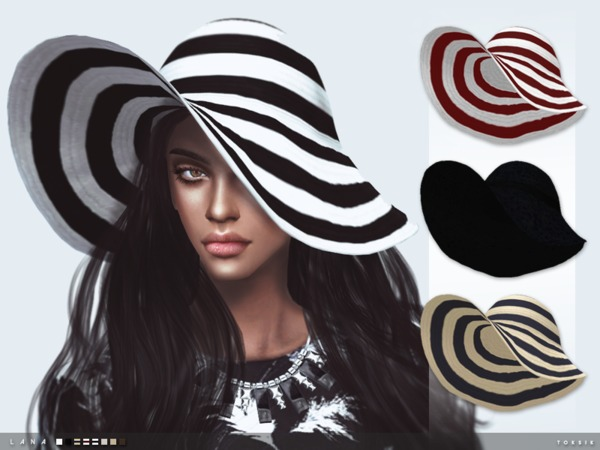 The Sims Resource: Lana Hat by toksik